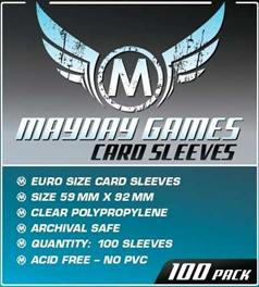 Euro card sleeves